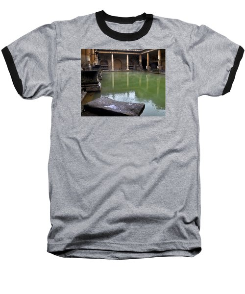 Roman Bath Baseball T-Shirt