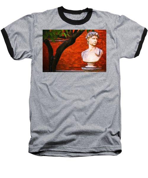 Roman Bust, Loyola University Chicago Baseball T-Shirt