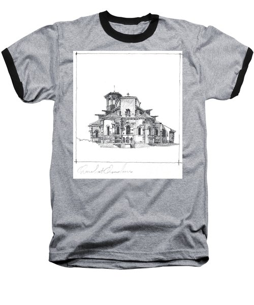Roman Church At Chamalieres Baseball T-Shirt