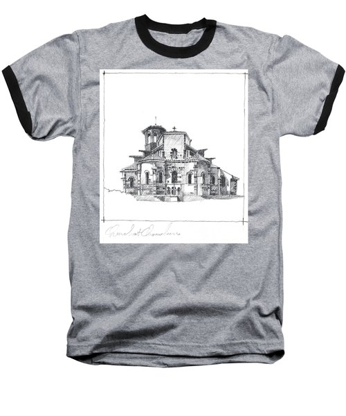 Roman Church At Chamalieres Baseball T-Shirt
