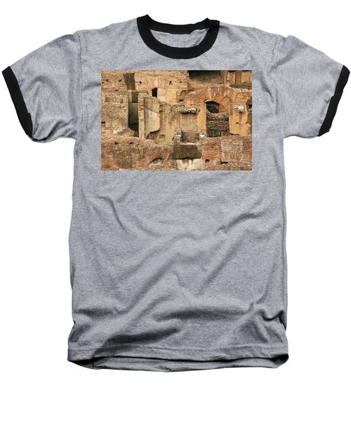 Baseball T-Shirt featuring the photograph Roman Colosseum by Silvia Bruno