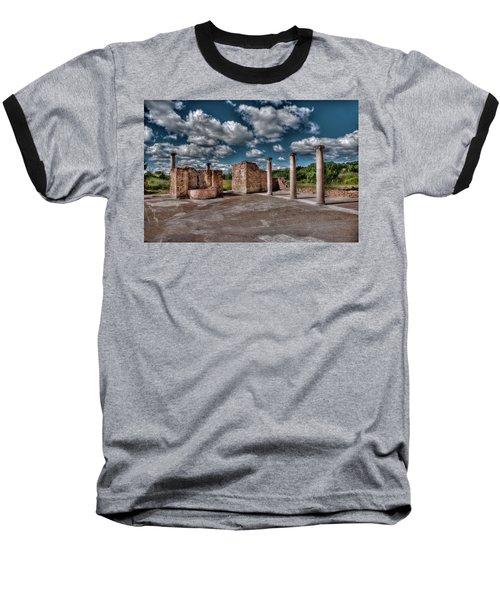 Roman Village  Baseball T-Shirt by Patrick Boening