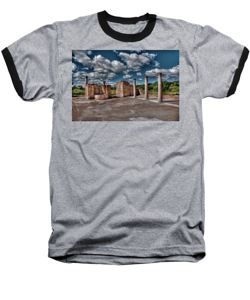 Roman Village  Baseball T-Shirt