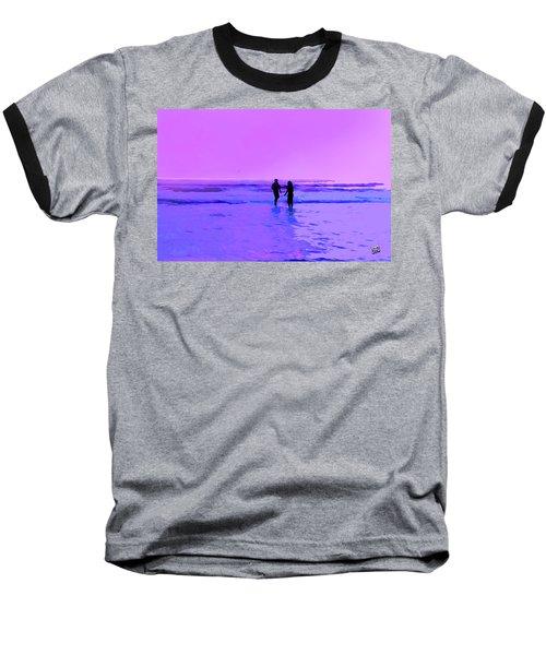 Romance On The Beach Baseball T-Shirt