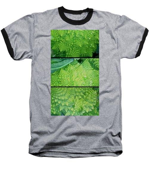 Romanesco Baseball T-Shirt by Karl Reid