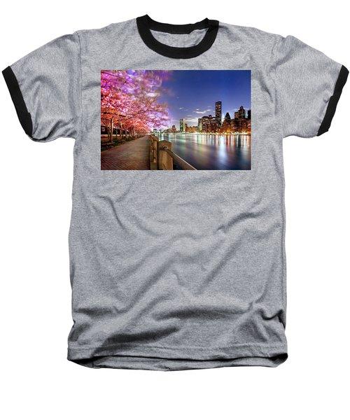 Romantic Blooms Baseball T-Shirt