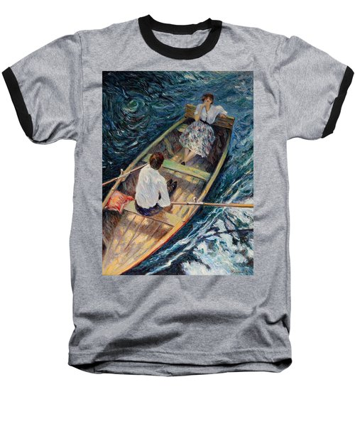 Dordogne , Beynac-et-cazenac , France ,romantic Boat Trip Baseball T-Shirt