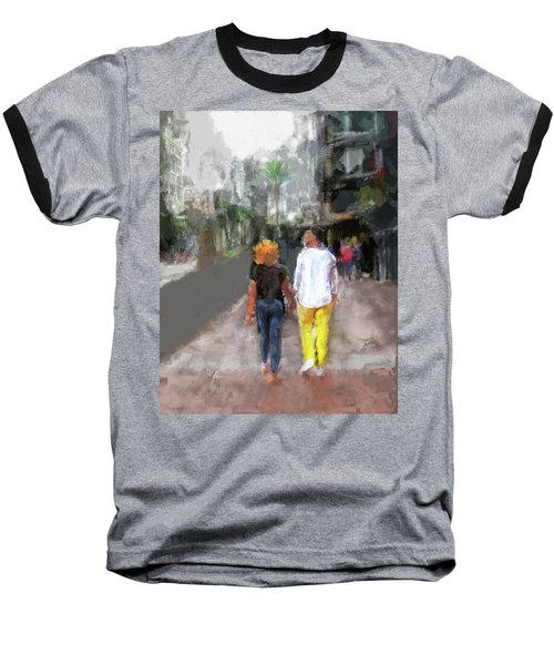 Romantic Couple Baseball T-Shirt