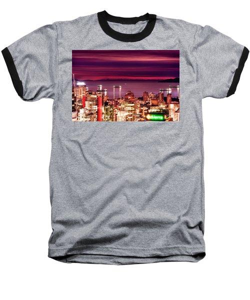 Romantic English Bay Baseball T-Shirt by Amyn Nasser