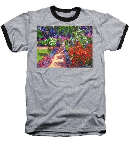 Romantic Garden Walk Baseball T-Shirt