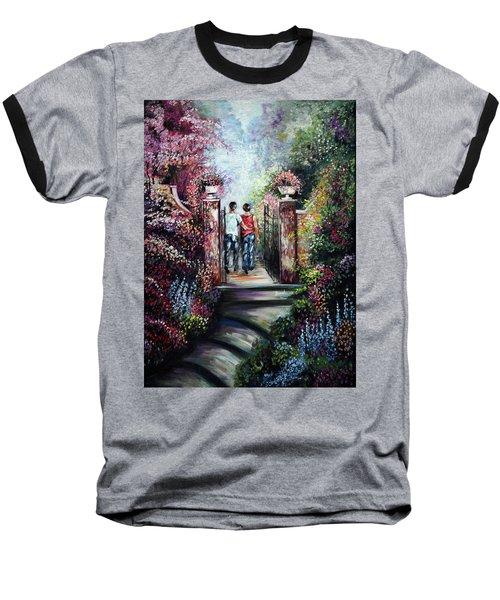 Romantic Landscape Baseball T-Shirt