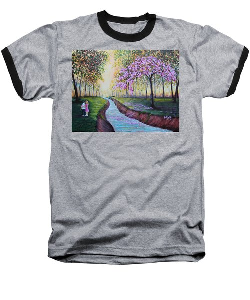 Romantic Moment Baseball T-Shirt