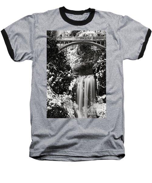 Romantic Moments At The Falls Baseball T-Shirt