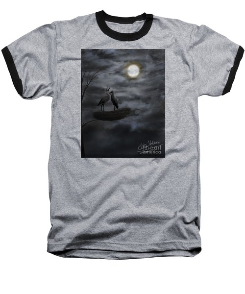 Night Sky Baseball T-Shirt