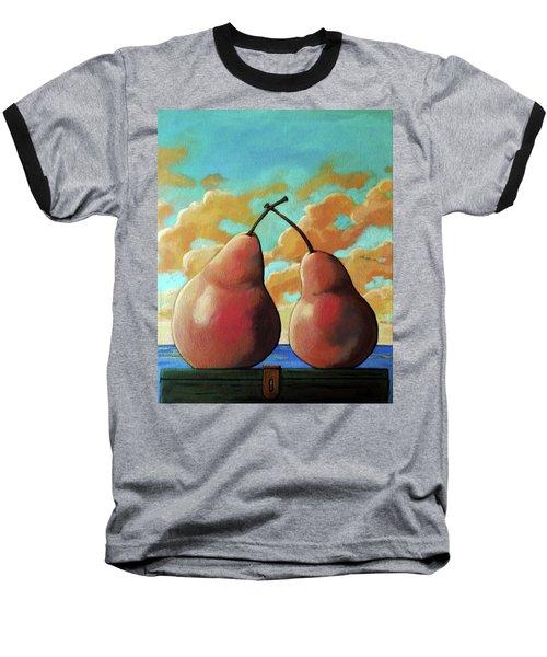 Romantic Pear Baseball T-Shirt