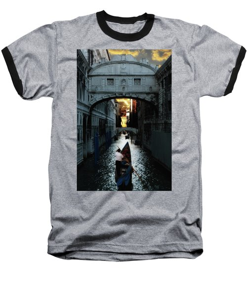 Romantic Venice Baseball T-Shirt