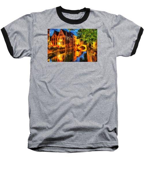 Romantique Baseball T-Shirt by Greg Collins