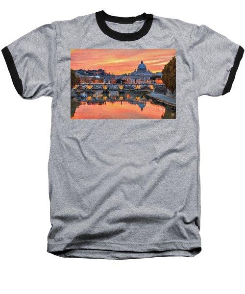 Rome And The Vatican City - 01  Baseball T-Shirt