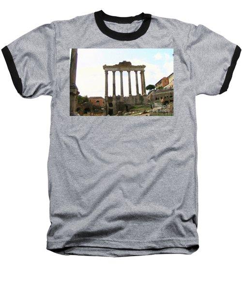 Rome The Eternal City Baseball T-Shirt