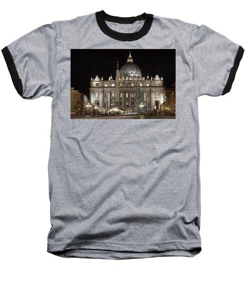 Rome Vatican Baseball T-Shirt