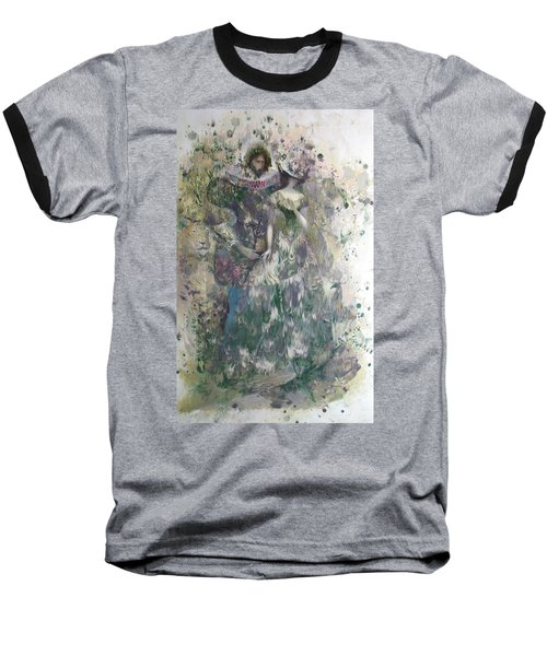 Romeo And Juliet. Monotype Baseball T-Shirt