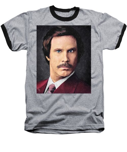 Ron Burgundy Baseball T-Shirt