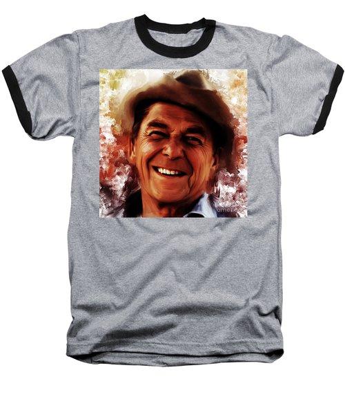 Ronald Reagan  Baseball T-Shirt