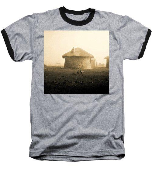Rondavel In Lesotho Baseball T-Shirt