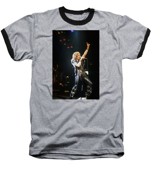 Ronnie James Dio Baseball T-Shirt