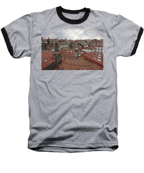 Roofs Over Santiago Baseball T-Shirt