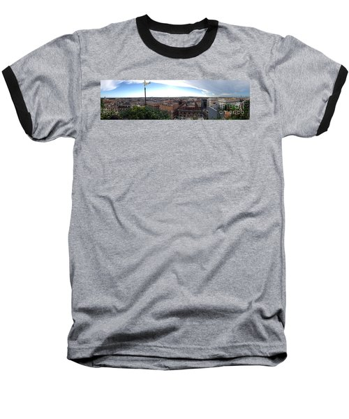 Rooftops Of Rome Baseball T-Shirt