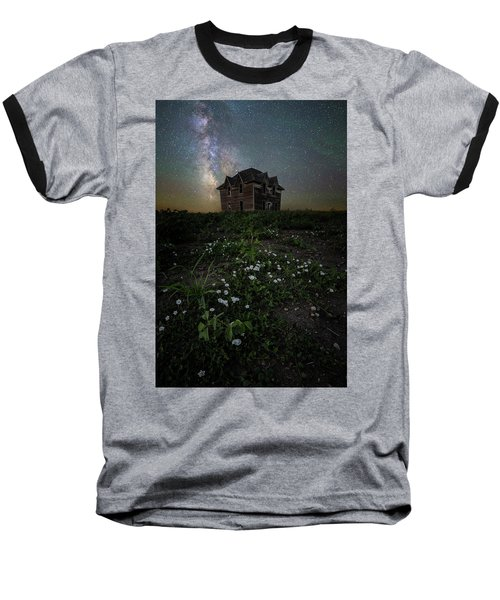Baseball T-Shirt featuring the photograph Room With A View by Aaron J Groen