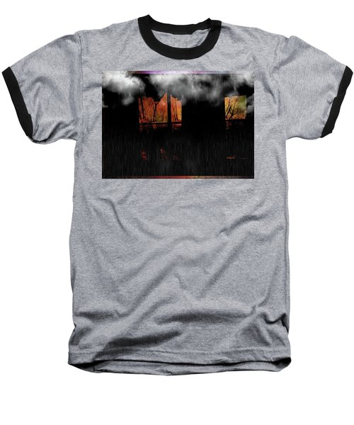 Room With Clouds Baseball T-Shirt
