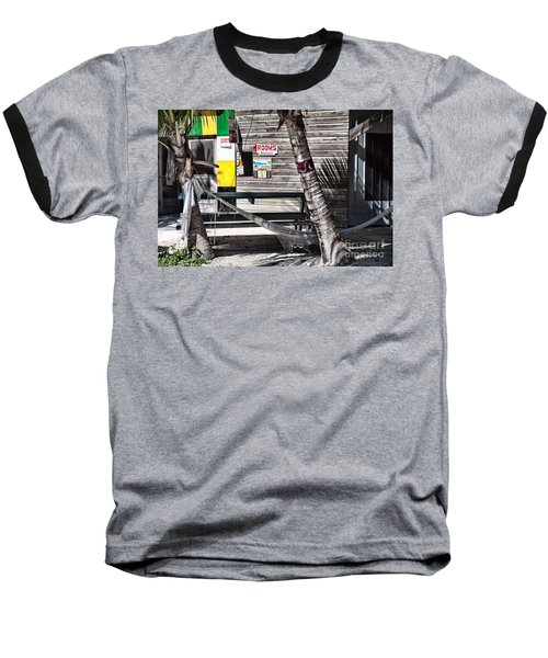 Rooms Available Baseball T-Shirt by Lawrence Burry