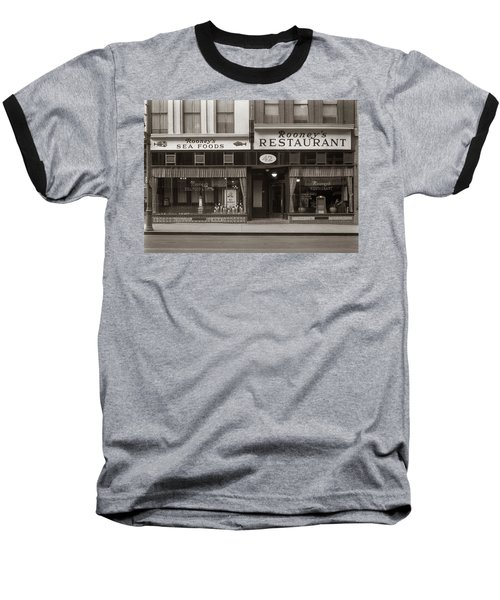 Rooney's Restaurant Wilkes Barre Pa 1940s Baseball T-Shirt