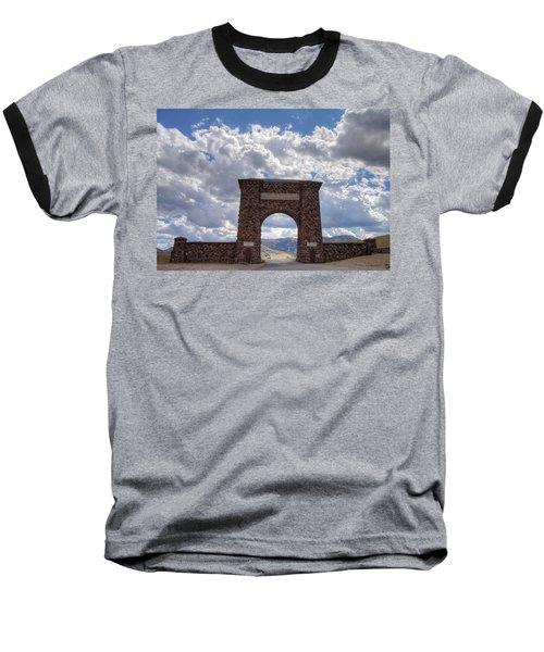 Roosevelt Arch Baseball T-Shirt