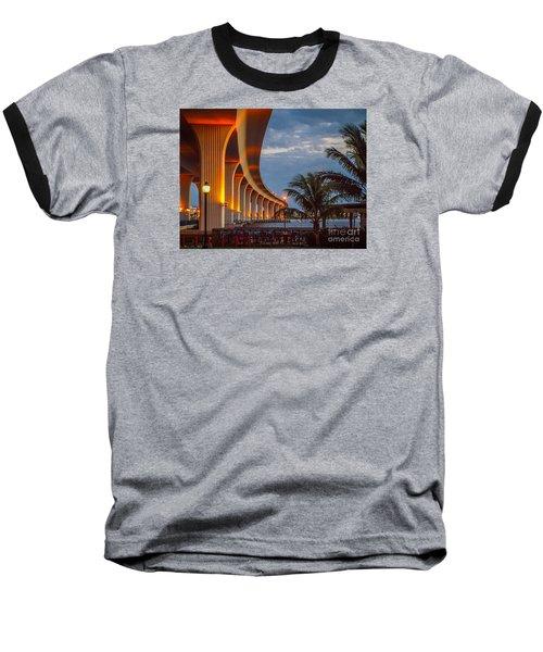 Roosevelt At First Light Baseball T-Shirt