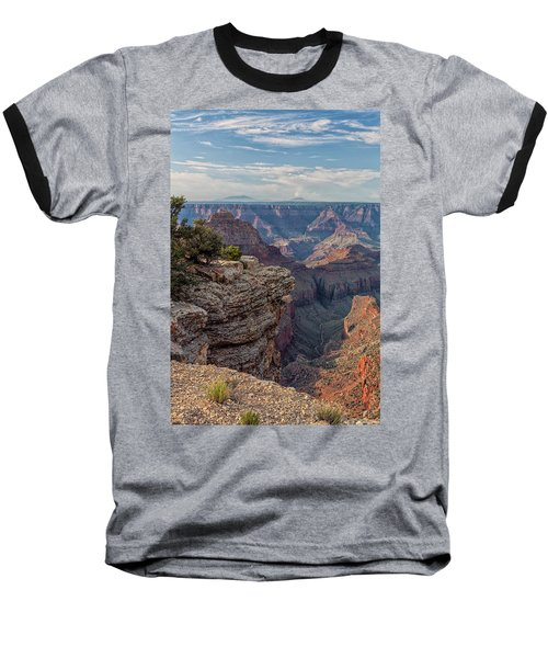 Canyon Below Baseball T-Shirt