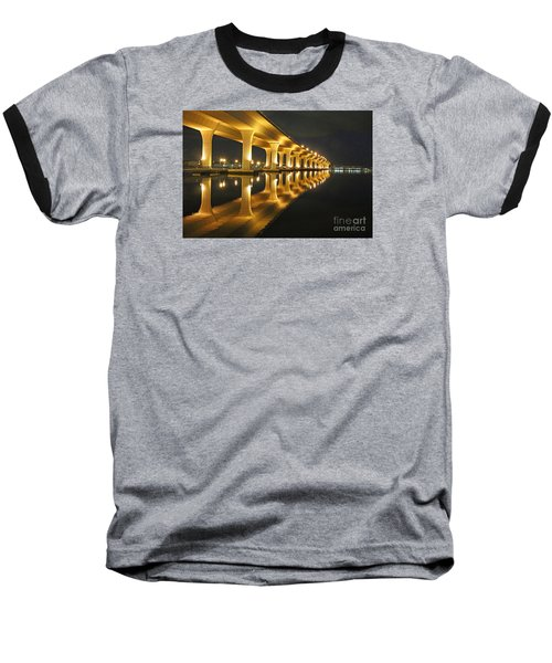 Roosevelt Reflection Baseball T-Shirt by Tom Claud