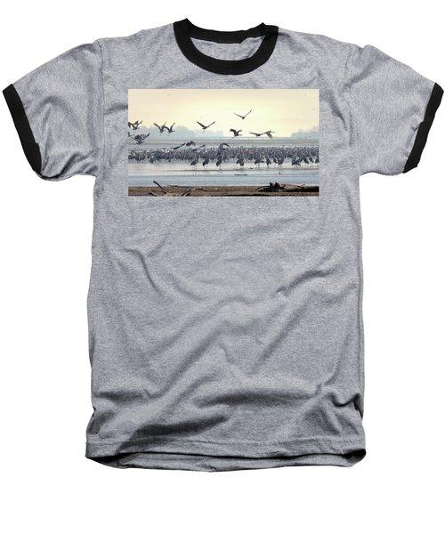 Roosting On The Platte Baseball T-Shirt