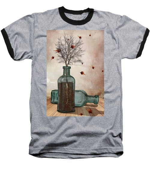 Rooted Baseball T-Shirt by Mihaela Pater