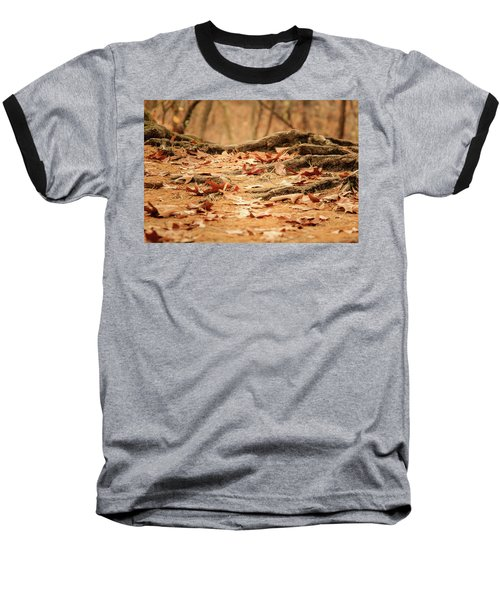Roots Along The Path Baseball T-Shirt