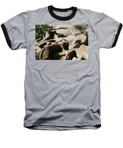 Roots And Graffiti Baseball T-Shirt