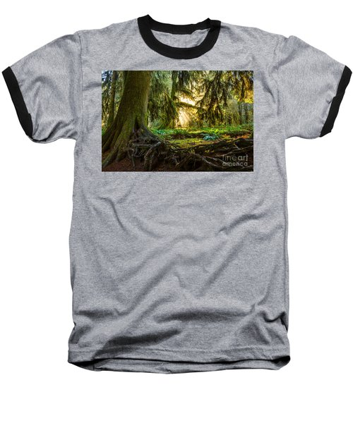 Roots And Light Baseball T-Shirt