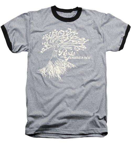 Roots In Tennessee Baseball T-Shirt by Heather Applegate