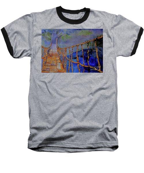 Rope Bridge Baseball T-Shirt