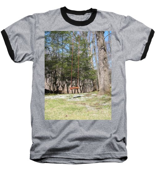 Rope Swing Baseball T-Shirt
