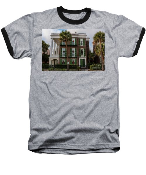 Roper Mansion In December Baseball T-Shirt