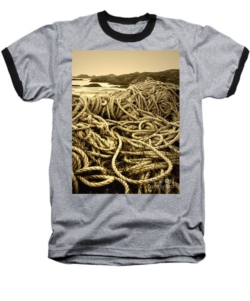 Ropes On Shore Baseball T-Shirt