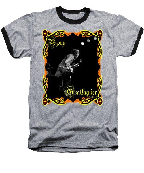 Shirt Design #1 With Text Baseball T-Shirt